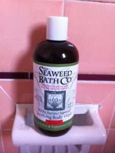 Seaweed Bath Company's Wildly Natural Soothing Bath Wash: Eucalyptus & Peppermint Scent ($16.89)