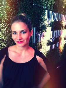 Our WWW girl, Vanessa, at the Young Hollywood Awards