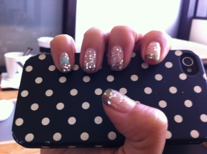 """""""Taking The Bronze AND Silver"""" - a Nami's Nails Creation"""