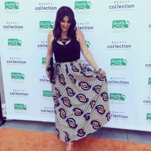 Always love supporting the beautiful Beauty Bus Foundation at the Beauty Bus Drive2015, esp when the honoree is my friend, Shawn Stavakoli, CEO of Beauty Collection Stores, being honored. Tank & Skirt: Anthropologie, as styled by Rachel Fox *Photo by Terry Hoard of Crown Pictures