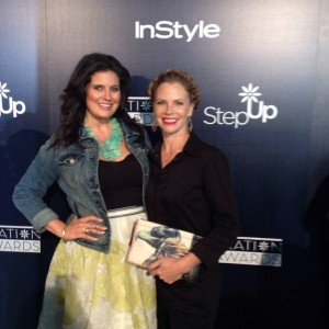 My best friend, Sarah Jane Morris, & I at the 12th annual Step Up Inspiration Awards at the Beverly Hilton on Friday, June 5th, 2015.