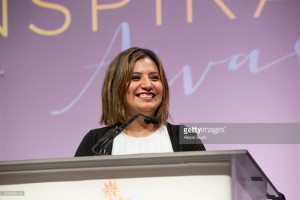 Our charming emcee - and my fellow Texan (holla!) , Cristela Alonzo.