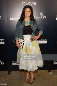 Dawn McCoy  (ummm…me) at the 12th Annual  Step Up Inspiration Awards at the Beverly Hilton