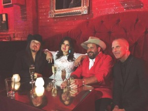 Post-Grammys-partying with The Mavericks