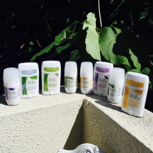 And there's a wide array of Via Nature deodorants to choose from!
